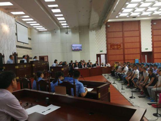兴麟房地产合同诈骗系列案在呼和浩特开庭审理