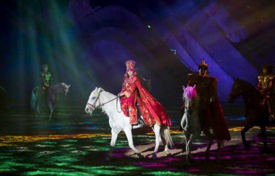 中国首创大型马文化综艺演出《千古马颂》呼和浩特震撼开演