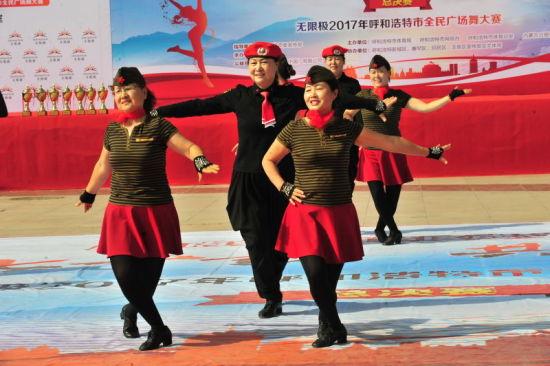 2017年呼和浩特市全民广场舞赛收官 16支队伍争魁夺冠