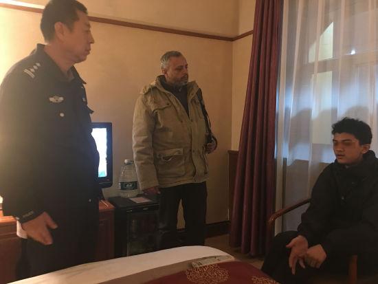 巴基斯坦商人内蒙古走失爱子 警察市民连夜帮找寻