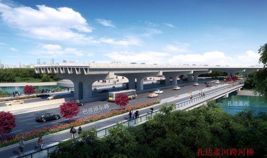呼和浩特巴彦路改造主线地勘完成 预计年底主线试通车