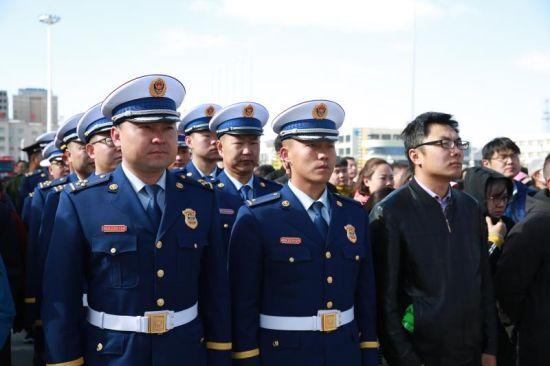 内蒙古阿拉善盟乌兰牧骑百场消防宣传文艺汇演正式启动