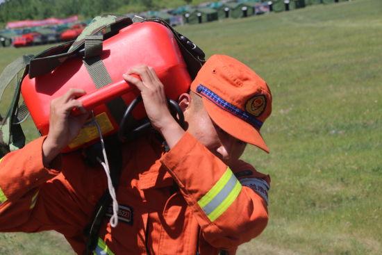 兴安盟森林消防支队:野外练兵进行时
