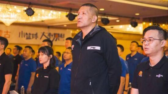 中國小籃球推廣活(huo)動(dong)走進內蒙(meng)古