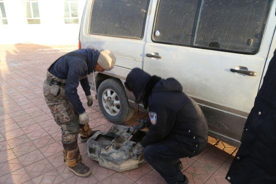 內蒙古珠恩嘎達布其出入境邊防檢查站查獲(huo)一起走私紅銅案