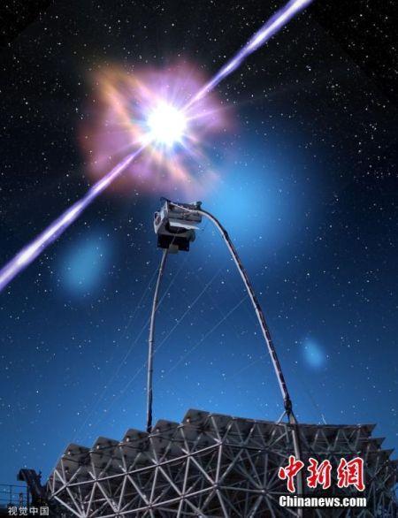 太空發生伽馬射線暴(bao) 產生史(shi)上最亮的光