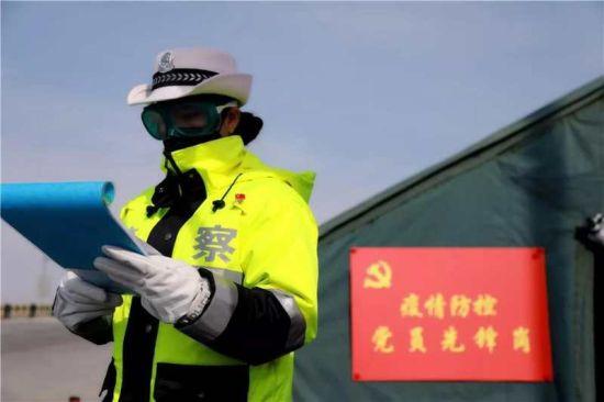 """內蒙古阿拉善盟(meng)︰一線(xian)集結 築牢疫情防控""""銅牆(qiang)鐵壁"""""""